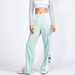 9d243d580db1f adidas Originals adicolor Popper Pants Mint, Sz L